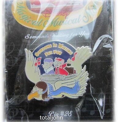 Disney Magical Musical Moments Someone Is Waiting for You #28 Rescuers Pin