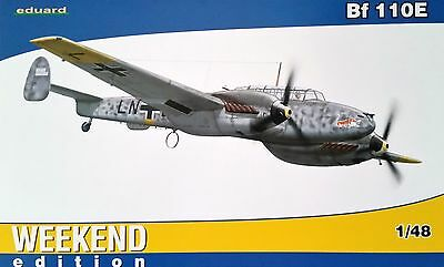 EDUARD #84144 WWII German Bf 110E Heavy Fighter in 1:48