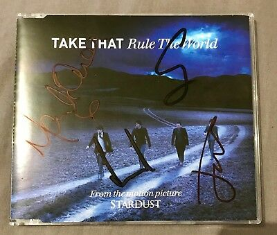 Take That Rule The World Signed CD (Gary Barlow)