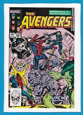 Avengers #237_November 1983_Very Fine/near Mint_Amazing Spider-Man_Rhino!