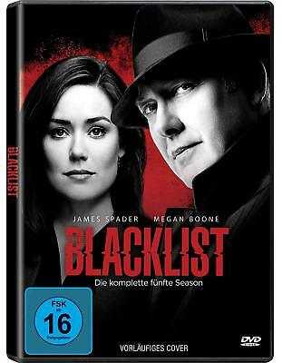 The Blacklist 5 Die Komplette Staffel Season 5 Dvd Deutsch