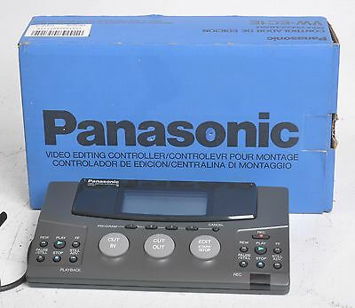 Panasonic Vw-Ec1E Video Editing Controller (Nos)