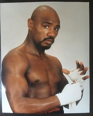 Wonderful Portrait Photograph Of The Legendary 'Marvellous' Marvin Hagler!!