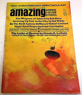 Amazing Science Fiction Stories - US Digest - Vol.45 No.1 - May 1971 - Bob Shaw