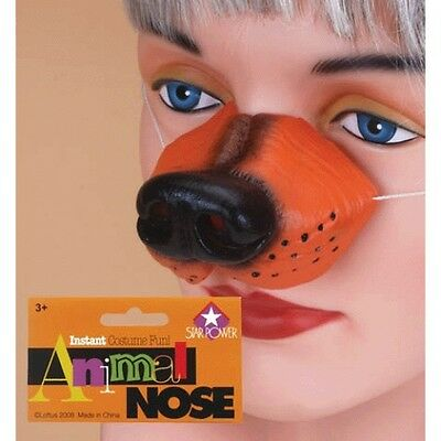 Deluxe BLACK SEAL WALRUS NOSE Latex Rubber Tusks Bird Costume Mask Toy Sea Funny
