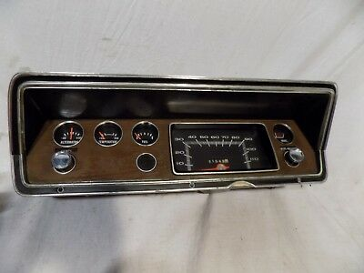 1970-76 Plymouth Duster/dodge Demon Dart Dash Cluster Gauges Mopar 340 360 71 72