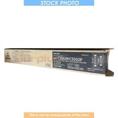 842201 Ricoh Aficio Mp C3502 Toner Cartridge Black 28K