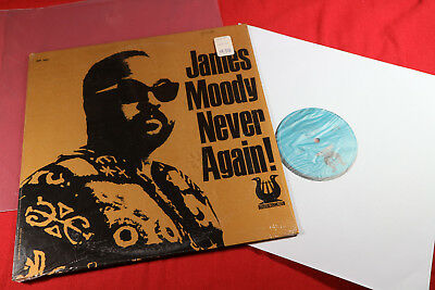 James Moody  NEVER AGAIN!  LP Muse MR 5001 USA 1972 sehr gut
