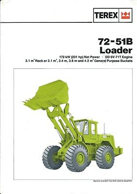 Equipment Brochure - Terex - 72-51B - Wheel Loader (E4500)