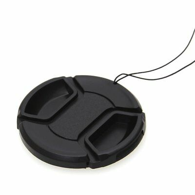 2Pcs 58mm Front Lens Cap Hood Cover Snap-on Protector For Canon Camera
