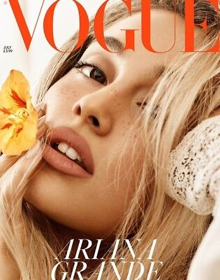 Ariana Grande July 2018 British Vogue Limited Edition Cover