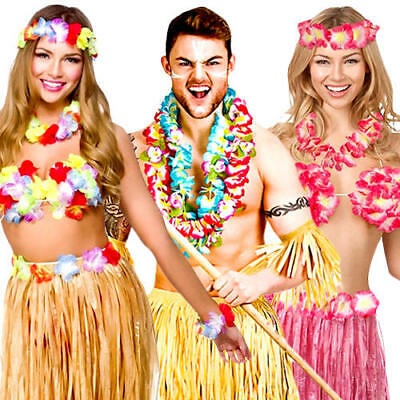Hawaii Tropical Girl Partykostum Neu Damen Karneval Fasching