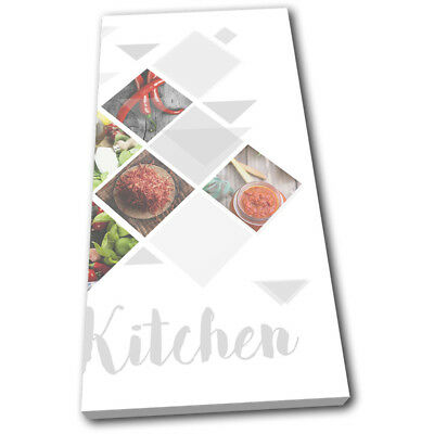 Geo Chilli Restaurant Cafe Food Kitchen SINGLE CANVAS WALL ART Picture Print