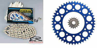 R1 Renthal Chain And Blue Sprocket Kit YZ 125 250 YZF WRF 250 400 426 450 99-20