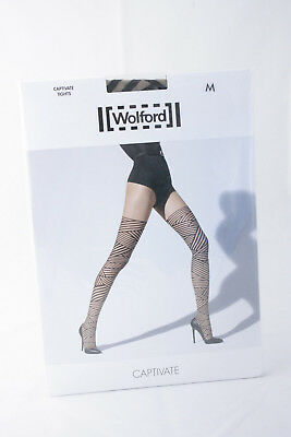 c6bf6ff39 WOLFORD PURE 30 COMPLETE SUPPORT TIGHTS size M Shape   Control STRONG  Anthracite.