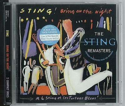 Sting Bring On The Night 540994-2 A&m Records 1986 2 Cd Ottimo Usato