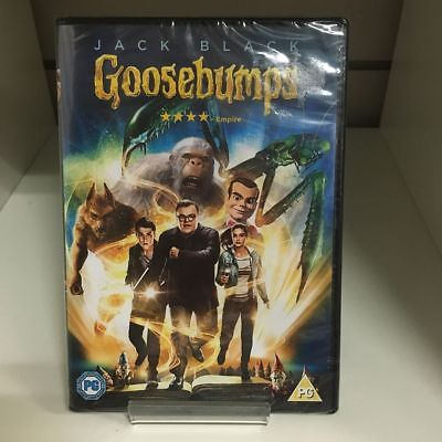 Goosebumps DVD - New and Sealed Fast and Free Delivery