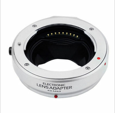 AF Auto Focus Adapter Ring for 4/3 Four Third Lens to Micro M4/3 Camera Sliver