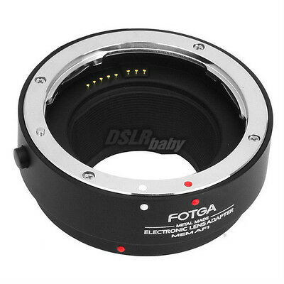 Fotga AF Auto Focus Lens Adapter for Canon EF EF-S to EOS M3 M5 M6 M10 M50 M100