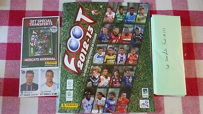 Panini Album Vide  + Set Complet  Championnat France 12/13 + Set Mercato  Neuf