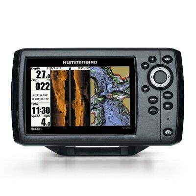 NEW Humminbird Helix 5 CHIRP Si GPS Chartplotter 5 in. Screen G2 Marine 410230-1