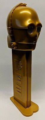 "Star Wars Giant C-3PO PEZ Dispenser with Electronic Sound Over 12"" Tall"