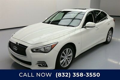 Infiniti Q50 4dr Sedan Texas Direct Auto 2015 4dr Sedan Used 3.7L V6 24V Automatic RWD Sedan Moonroof