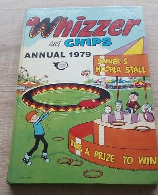 Whizzer & Chips Annual 1979.  Hardback Book.  Vintage.  Original Price Intact.