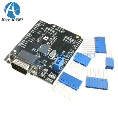 MCP2515 EF02037 CAN BUS Shield Controller communication SPI speed high Arduino
