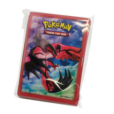 Pokemon Yveltal Card Sleeves Pack Of 65 - Xy Trainers Premium Collection Sku#218