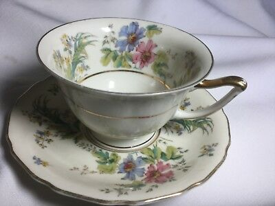 Thomasivory  Cup And Saucer Bavaria Germany
