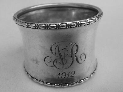 HM Silver Napkin Ring (506a) - Birmingham 1910 by Gorham Manufacturing Co