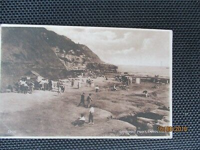 Orcombe Point  -Exmouth - 1926 postcard