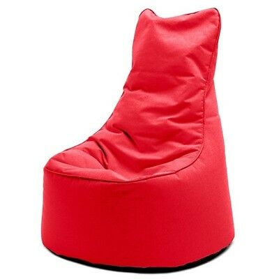 Sitting Bull Sitzsack Chill Seat Outdoor Red