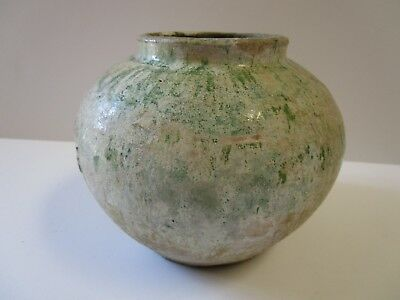 Antique Fine Old Chinese Pot Vessel Bowl Sculpture 19Th Century Or Older