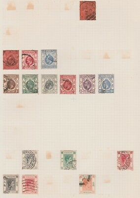 HONG KONG COLLECTION Early Issues GV Good Postmarks, as per scan #