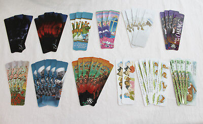 LOT of 52 NEW Bookmarks Various Designs