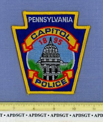 PENNSYLVANIA STATE CAPITOL BUILDING Sheriff Police Patch HARRISBURG CAPITAL CITY