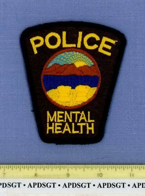 OHIO STATE DEPARTMENT of MENTAL HEALTH (Old Vintage) OH Sheriff Police Patch
