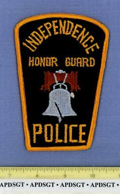 INDEPENDENCE HONOR GUARD (Old Vintage) OHIO Sheriff Police Patch LIBERTY BELL