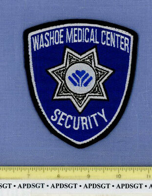 WASHOE MEDICAL CENTER SECURITY NEVADA Sheriff Hospital Police Patch STAR