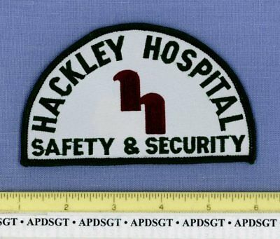 HACKLEY HOSPITAL SAFETY & SECURITY • MUSKEGON MICHIGAN Company Police Patch