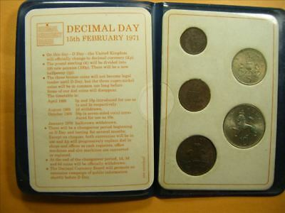 3186 GB First Decimal coin Set