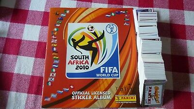 Rare Panini Album Vide + Set Complet  World Cup Coupe Du Monde Africa 2010 Neuf