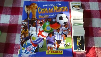 Panini Album Vide + Set Complet World Cup Story 1970/1990