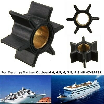 Outboard Impeller Water Pump Rubber # 18-3039 47-89981 4HP 4.5HP 6HP 7.5HP