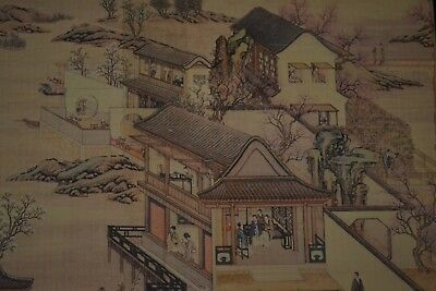 collectible China style Handwork hand printing dragon boat rare old art books