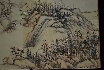 collectible China style Handwork hand printing mountains rare old art books