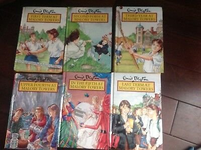Enid Blyton Mallory Towers all 6 hardback