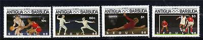Antigua 1987 Olympic Games SG1086/9 MNH